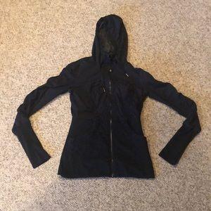 Lululemon black Scuba logo reversible sweatshirt 6